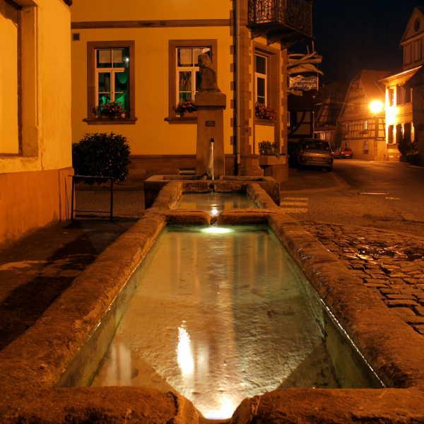 La fontaine aux 3 lumières