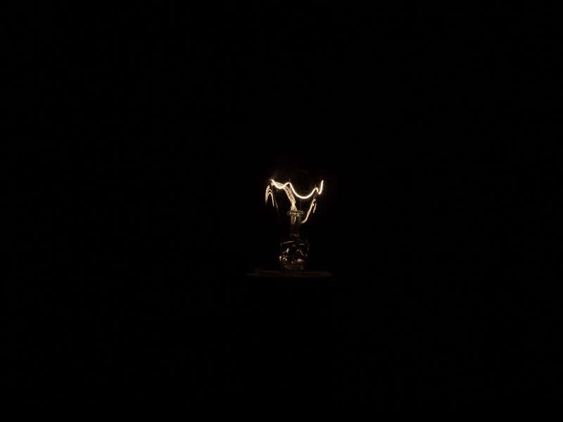 L'ampoule 25W à 1/4000e