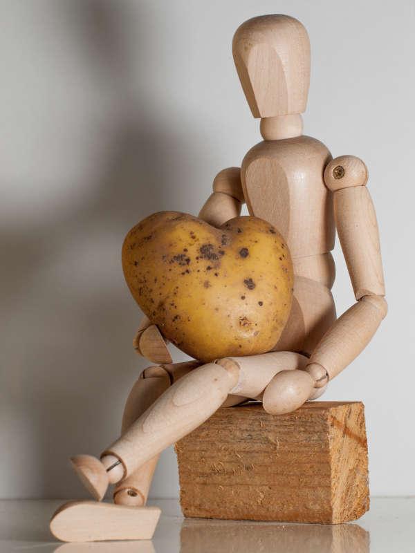 O'Cedar et son coeur de pomme de terre