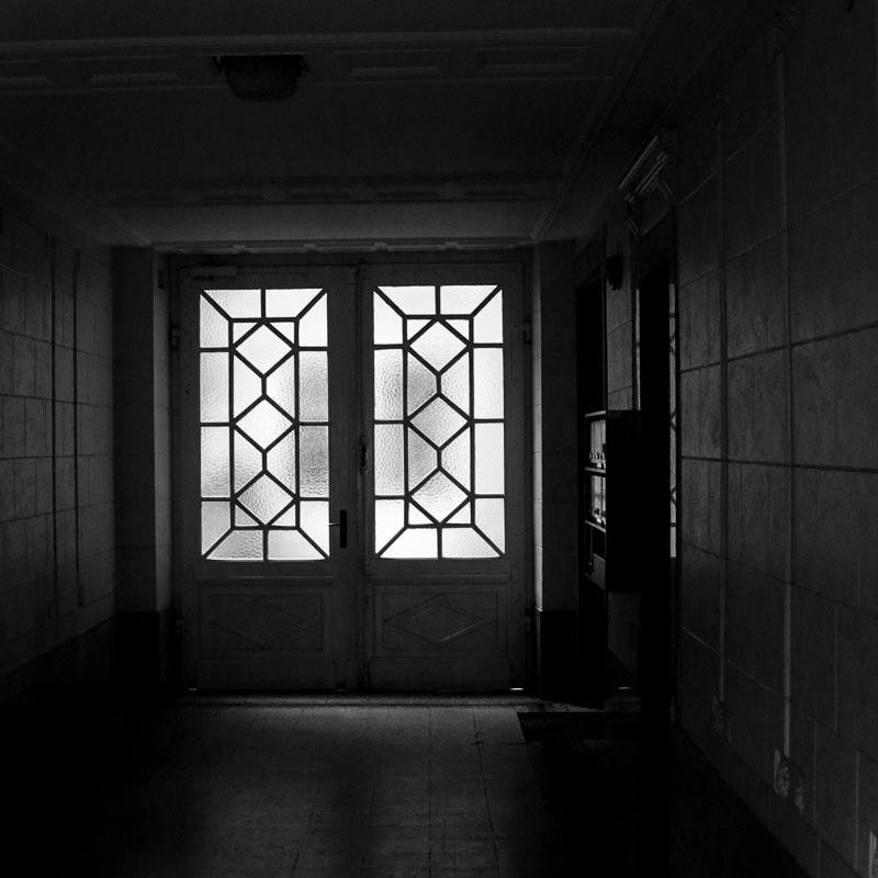 Le couloir vers la cour intérieures