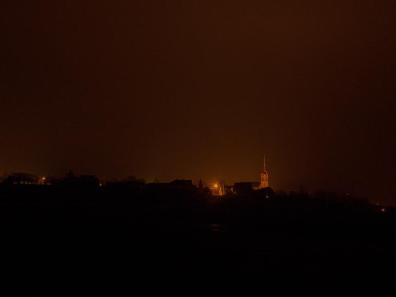 Le village de nuit