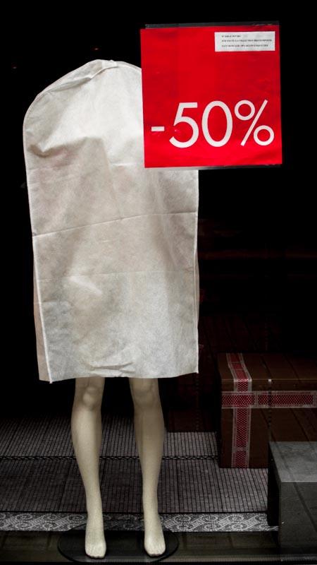 Le mannequin à -50%