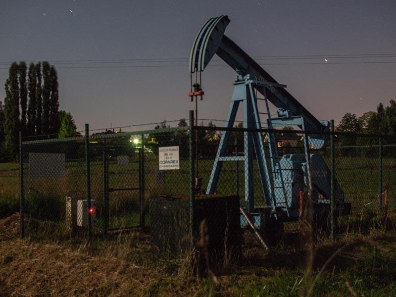 Le forage de pétrole