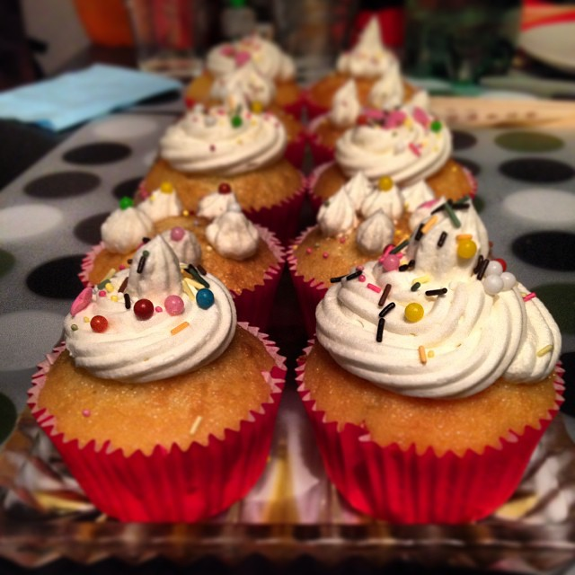 [Instagram] Reste plus qu'à. Merci Maryline. #miam #dessert