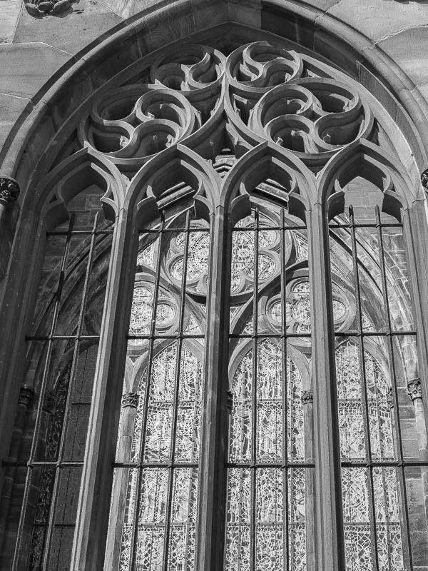 Détails et vitraux