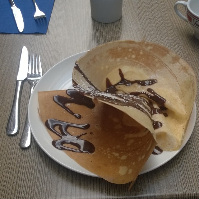 [Instagram] Crêpe dessert en 3D #strabourg #bretagne #miam