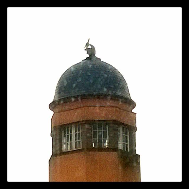 [Instagram] Un microscope sur les toits à #strasbourg #incroyable