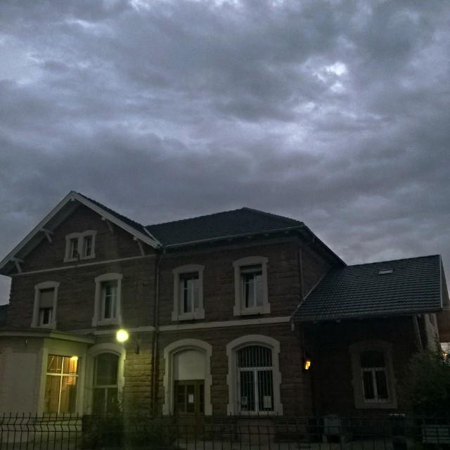 [Instagram] Le ciel menaçant du matin #alsace