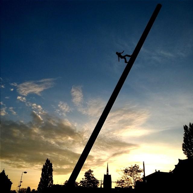 [Instagram] Levé de soleil du jour. #strasbourg #igersfrance #igersstrasbourg