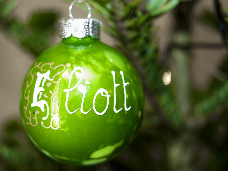 "La boule ""Eliott"""