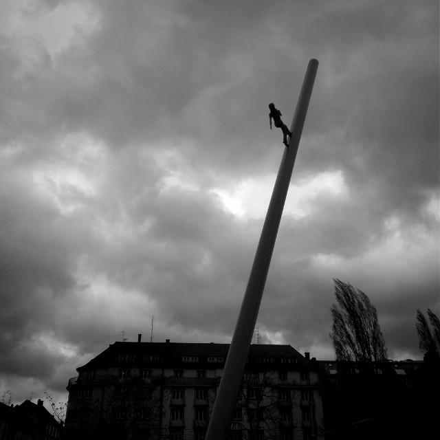 [Instagram] Je ne suis pas sur qu'aujourd'hui se soit une bonne idée que de marcher vers le ciel.