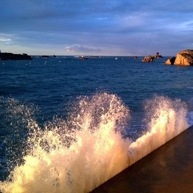 [Instagram] Souvenir de Bretagne et des grandes marées.
