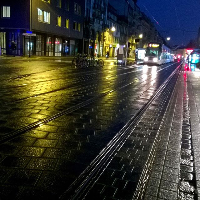 [Instagram] Tram de nuit inspiré par Brassaï