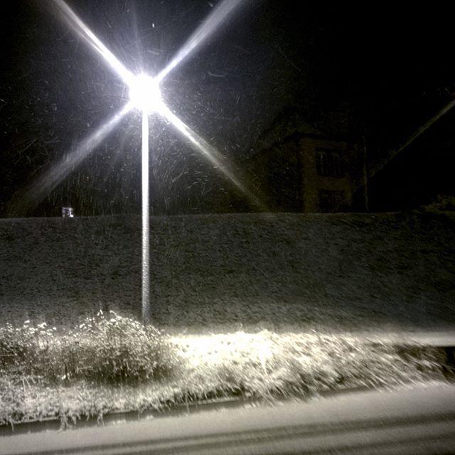 [Instagram] L'hiver est là, la neige l'annonce.