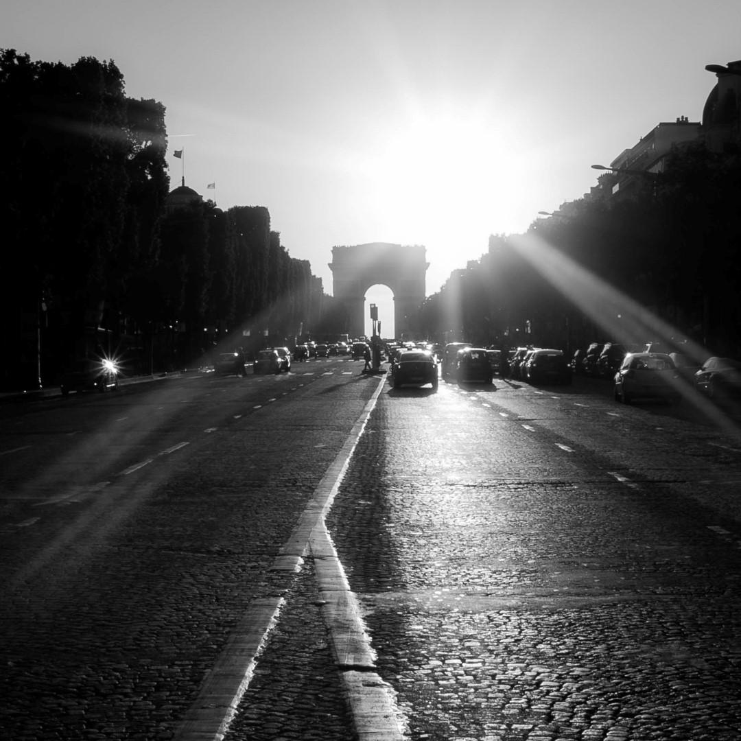 Paris à contre jour #12