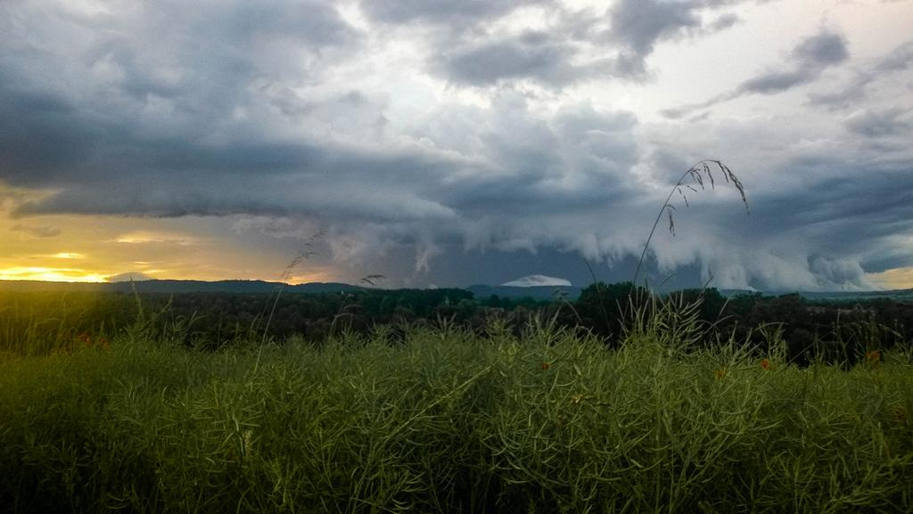 L'orage vu depuis Waldowilsheim