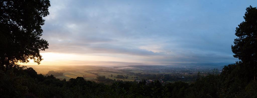 Levé de soleil depuis le Mt St Michel (67)