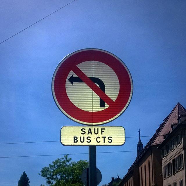 [Instagram] Et mince ! Je ne suis pas s un bus de la CTS ...