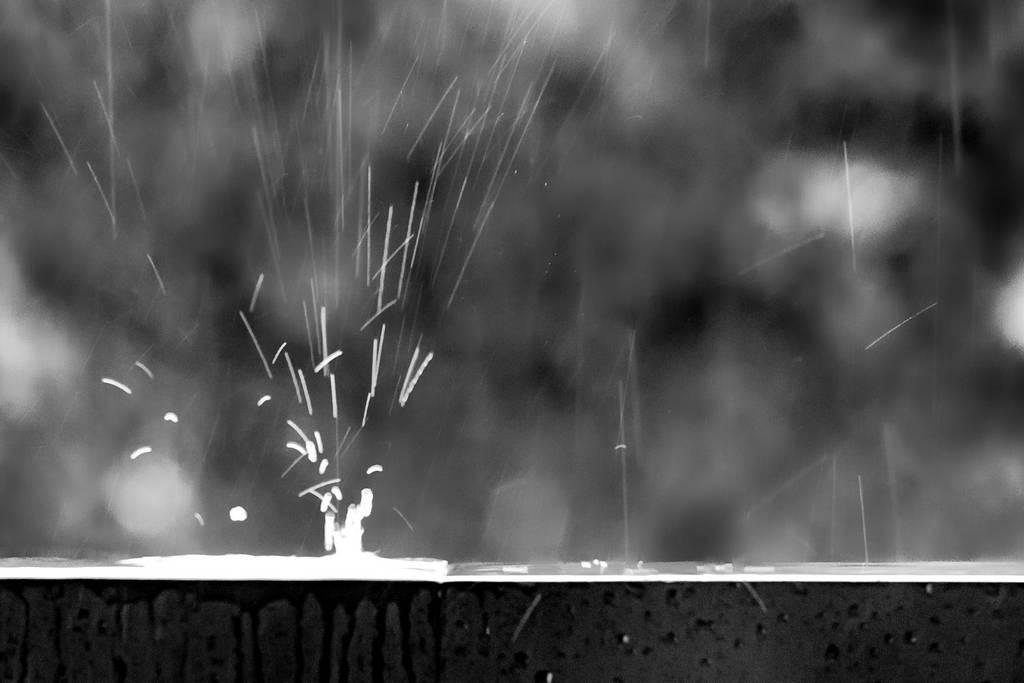 Mini feu d'artifice de pluie