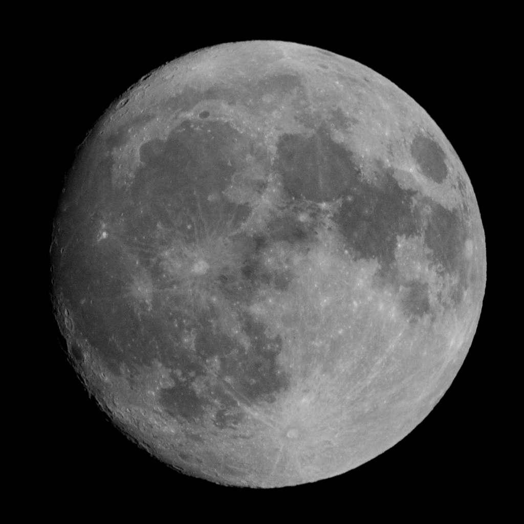 Une quasi pleine lune